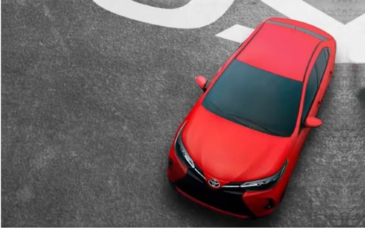 Toyota Yaris facelift.  - Toyota