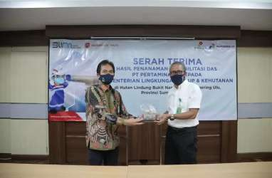 Pertamina EP : Rehabilitasi DAS Bukit Nanti Berhasil 95 Persen
