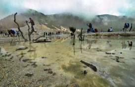 Musim Kemarau, Wisata Kemah di Gunung Papandayan jadi Favorit