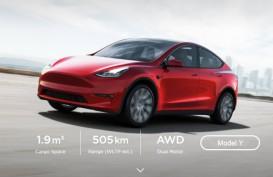 Penjualan Mobil Listrik Tesla Terpacu Belanja Online