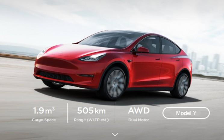 Penjualan Mobil Listrik Tesla Terpacu Belanja Online Otomotif Bisnis Com