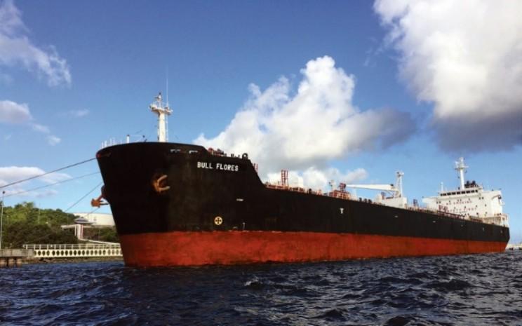 MT Bull Flores, salah satu kapal milik PT Buana Lintas Lautan Tbk. - bull.co.id
