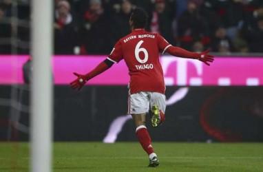 PSG Saingi Liverpool untuk Boyong Thiago Alcantara dari Munchen