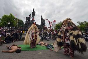 Umat Hindu di Bali Menolak Ajaran Hare Krishna