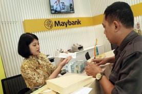 Restrukturisasi Kredit Bank Maybank Capai Rp15,4 Triliun