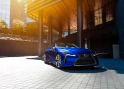 Lexus LC 500 Convertible Regatta Hadir di Benua Biru