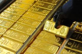 Penjualan Emas Antam Semester I/2020 Turun 49,7 Persen