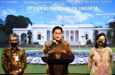 Erick Thohir Rombak Direksi dan Komisaris Pupuk Indonesia