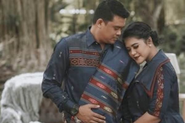 Bobby Nasution dan Kahiyang Ayu. - Dok. Panitia \'Manopot Horja\' Bobby/Kahiyang