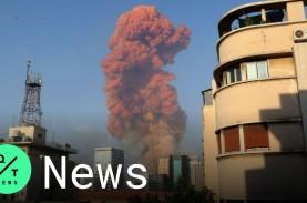 Detik-Detik Ribuan Ton Amonium Nitrat Meledak di Beirut…