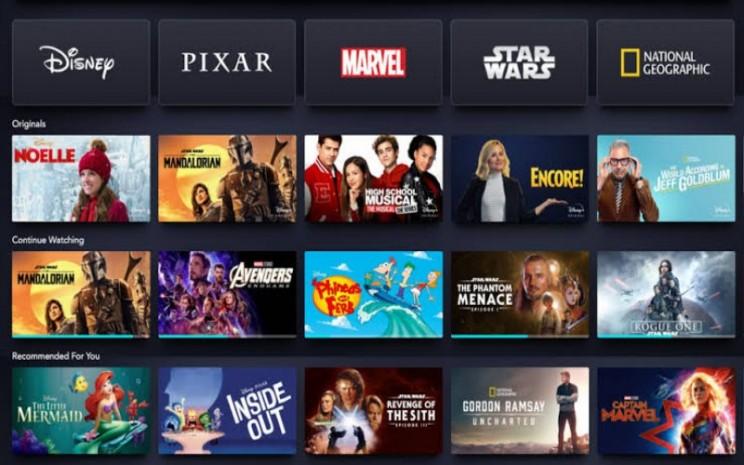 Wow Layanan Streaming Disney Plus Tersedia Di Indonesia Mulai Bulan Depan Lifestyle Bisnis Com