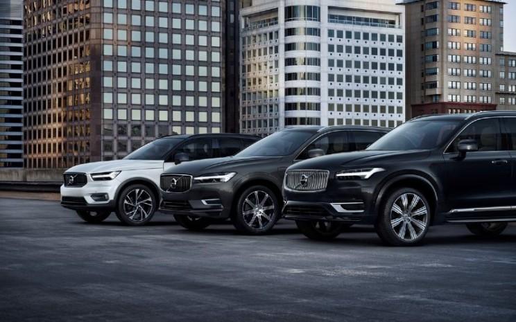 Jajaran model Volvo Cars. Pada bulan Juli, UV menyumbang 72,8 persen dari total penjualan perusahaan.  - Volvo Cars