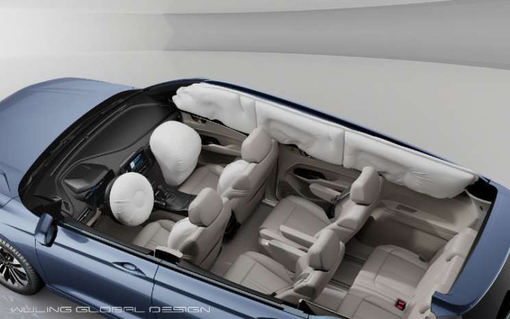 Interior Wuling Victory.  - GM