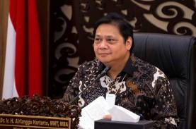 Ekonomi Indonesia Minus 5,32%, Airlangga: Kita Tak…