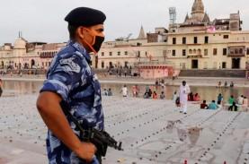 PM India Narendra Modi Mulai Bangun Kuil di Area Eks…
