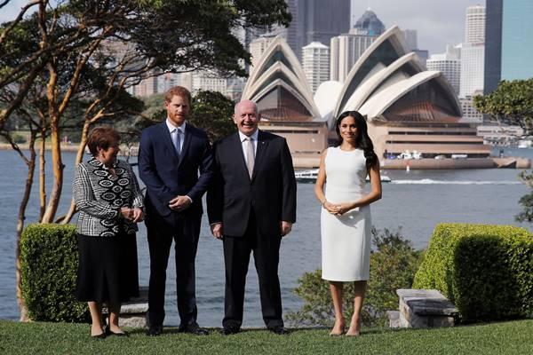 Pangeran Harry dan Meghan Markle mengunjungi Sydney Australia - Istimewa