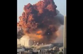 Gubernur Marwan Menangis, Sebut Ledakan di Pelabuhan Beirut Seperti Bom Hiroshima dan Nagasaki