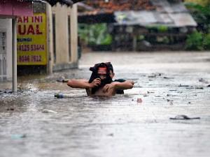 Kota Bandar Lampung Dilanda Banjir