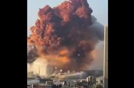 Ledakan di Pelabuhan Beirut Lebanon 10 Kali Lebih…