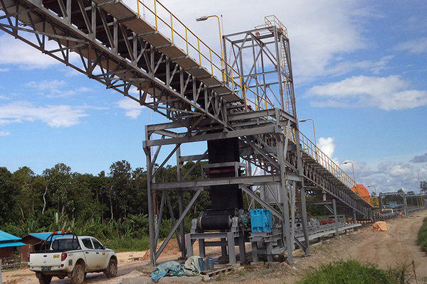 Belt conveyor di wilayah operasi pertambangan batu bara PT Gunung Bara Utama, anak usaha PT Trada Alam Mineral. - gunungbarautama.com