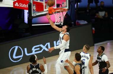 Hasil Basket NBA : Doncic Gemilang, Mavericks Sikat Kings