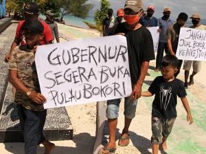 Warga Suku Bajo Menolak Investor Asing Kelola Wisata Pulau Bokori