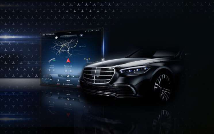 Mercedes Benz S-Class.  - Mercedes Benz