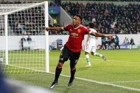 Hasil Liga Europa, Inter Milan & Manchester United…
