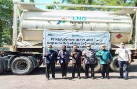 PT Kima Terima Pasokan LNG Aico Energi