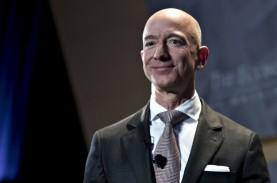Jeff Bezos Jual 'Secuil' Saham Amazon, Nilainya Rp45,26…