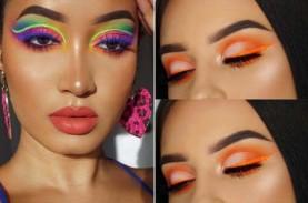 Tips Menggunakan Warna Neon untuk Riasan Wajah