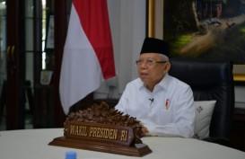 Wapres Ma'ruf Amin Targetkan Indonesia Punya Bank Syariah 20 Besar Dunia