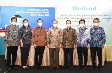 Metropolitan Land (MTLA) Bagikan Dividen Rp48 Miliar