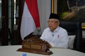 Wapres Ma'ruf Amin Yakin Merger Bank Syariah BUMN…