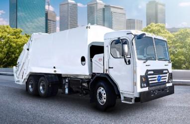 Truk BYD 8R Listrik Ambil Alih Angkutan Sampah di Jersey