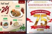 Catat, Ini Ragam Promo Kuliner di HUT Kemerdekaan RI