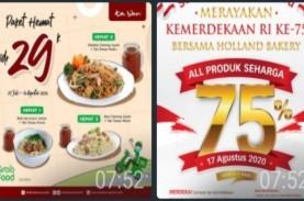 Catat, Ini Ragam Promo Kuliner di HUT Kemerdekaan…