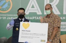 IKEA Sumbangkan Sebagian Keuntungan Blue Bag untuk Jawa Barat
