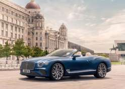 Bentley Continental GT Mulliner Convertible Debut Global di St Tropez