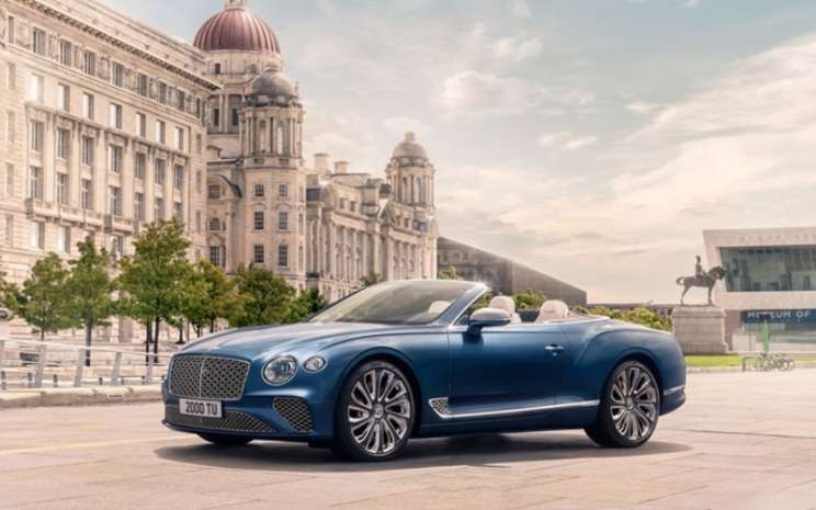 Bentley Continental GT Mulliner Convertible. Bentley