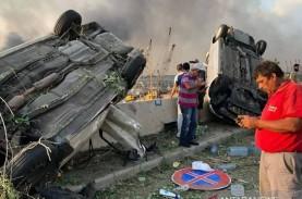 Ledakan Beirut, KBRI Distribusikan Bantuan untuk WNI…