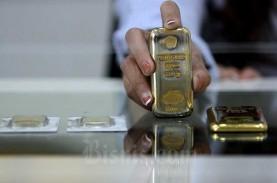 Dolar AS Unjuk Gigi, Laju Kenaikan Harga Emas Tertahan