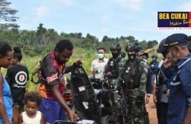 Bea Cukai Jayapura Gelar Patroli Gabungan di Perbatasan RI-Papua New Guinea