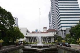 Sebagian Lantai Gedung G Bali Kota DKI Ditutup terkait…