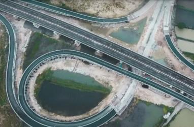 BPJT : Konstruksi Tol Krian-Manyar Ditargetkan Rampung Akhir Tahun Ini