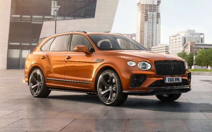 New Bentley Bentayga.  - Bentleya
