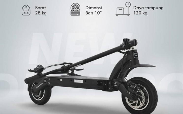 Dualtron terbaru merupakan produk impor yang didistribusikan  oleh Minimotor. - Instagram