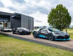 Bugatti Divo Pertama Diserahkan ke Pemesan di Molsheim