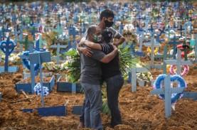 Sebaran Covid-19 di Brasil Meluas, Angka Kematian…