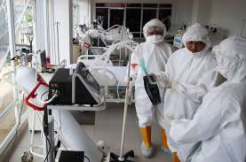 Rumah Sakit Darurat Wisma Atlet Masih Rawat 1.222…